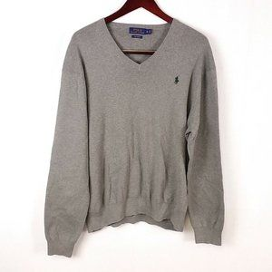 Polo Ralph Lauren Gray Pullover Sweater Z38